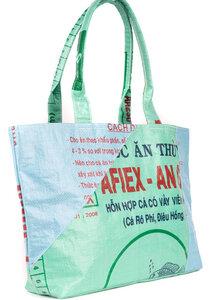 Shopper aus recycelten Reissäcken - El Puente