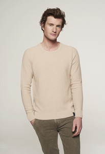Zip Sweater - Baumwolle - gestrickt & circular - Loop.a life