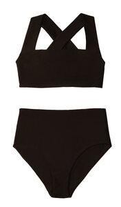Top No.1 - Bikini Top mit breiten, überkreuzten Trägern - RENDL