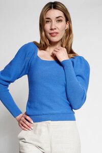 Pullover mit Puffärmel - t7berlin