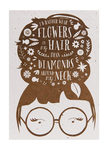 Pflanzbare Grußkarten Wildblumen 3 - NIKO NIKO