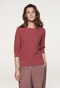 Summer Sweater - Baumwolle - stehkragen - gestrickt & circular - Loop.a life