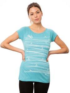 Damen T-Shirt Summertime Bio Fair - FellHerz