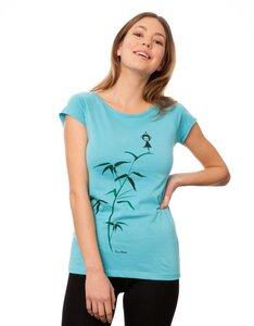 Damen T-Shirt Yogamädchen Bio Fair - FellHerz