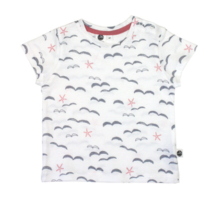 T-Shirt Möve - Pünktchen Komma Strich