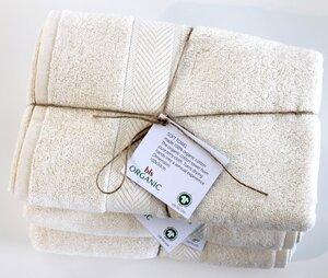 """""""3er Pack"""" GOTS zertifizierte Handtuch aus feinster Biobaumwolle - VNS Organic"""