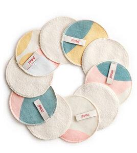 Waschbare Abschminkpads doppelseitig, aus Biobaumwolle - Imse Vimse