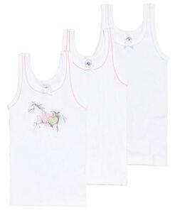 Mädchen Unterhemd 3er Pack - Haasis Bodywear