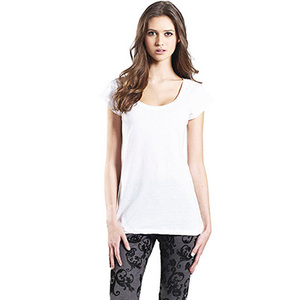 3er Pack Women's Organic Tunic T-Shirt - Continental Clothing