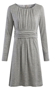 Bellata Dress - Grey Blue - Komodo
