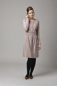Bellata Dress - Grey Red - Komodo