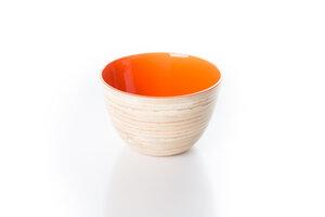 Bambusschälchen orange - Bea Mely