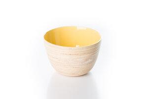 Bambusschälchen gelb-pastell - Bea Mely