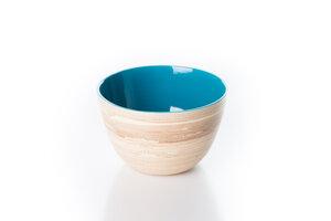 Bambusschälchen hellblau - Bea Mely