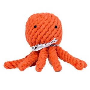 Baumwollspielzeug für den Hund: Tintenfisch Thaddäus - Laboni