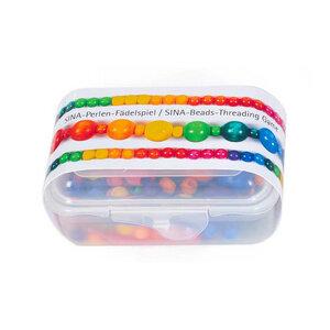 Sina Perlen Fädelspiel ab 3 Jahren geeignet, für Schulung der Feinmotorik - Sina Spielzeug
