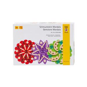 Sina Schmuckstein Mandala für Kinder ab 3 Jahre für Feinmotorik und Konzentration - Sina Spielzeug