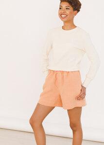 Hanf Shorts EVA Pfirsich - Daniela Salazar