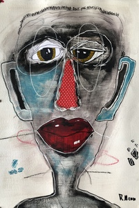 "Kunstwerk ""Sag ja"" Gemälde Einzelstück Unikat - ARTlistic"
