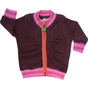 Zipper-Jacke Frottee für Mädchen - Freds World - Green Cotton