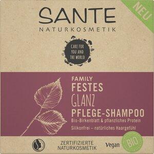 Festes Shampoo 2in1 Glanz - Sante