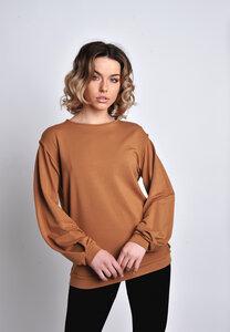 Pullover, Sweatshirt langwarm Tencel-Modal - SinWeaver alternative fashion
