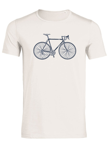 Bike Retro - Adores Slub - T-Shirt - GreenBomb