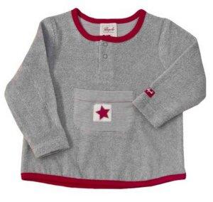 Baby Frotteepullover grau - People Wear Organic