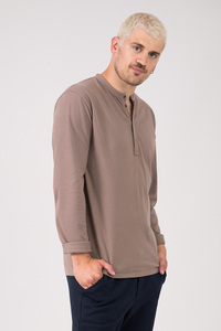 """Longsleeve Henley """"JARUL"""" - [eyd] humanitarian clothing"""