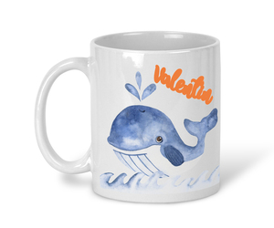 Keramiktasse Maritime Motive, personalisiert - wolga-kreativ