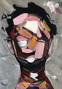 """Kunstwerk """"crazy brain"""" Gemälde Einzelstück Unikat - ARTlistic"""