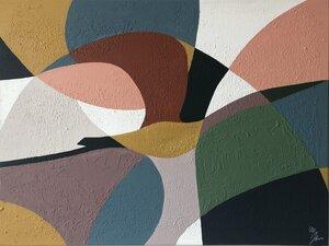 """Kunstwerk """"Kranich"""" Gemälde Einzelstück Unikat - ARTlistic"""