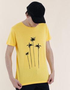 Daniel T-Shirt aus Modal-Buchenfaser & Bio-Baumwolle mit Palmen Druck - Re-Bello