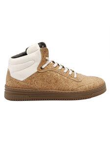 Herren High Top Sneaker Stanley Kork/Bio-Baumwolle - Grand Step Shoes