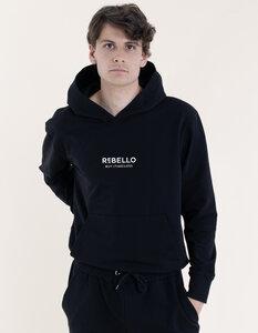 Herren Hoodie aus Bio-Baumwolle mit Timeless Druck - Re-Bello
