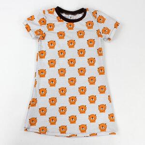 Kinder-Shirtkleid aus kuschelweichem Jersey - fuxandfriends