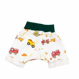 "BIO Sommer Shorts ""HAPPY WORKER"" - luftabong"