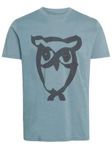 Herren T-Shirt Alder brused owl tee reine Bio-Baumwolle - KnowledgeCotton Apparel
