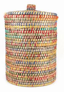 Wäschekorb aus Kaisa-Gras - El Puente