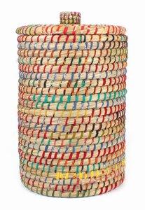 Wäsche- und Aufbewahrungskorb aus Kaisa-Gras - El Puente