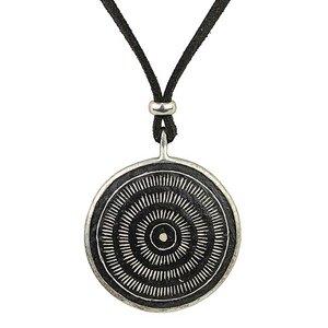 Upcycling Halskette - Aura - Straußeneischmuck - Mambu Design