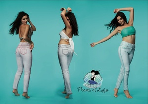 Beauty-Jeans * jade - Pearls of Laja