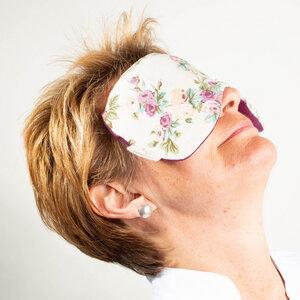 Augenmaske zur Entspannung aus Leinen - nahtur-design