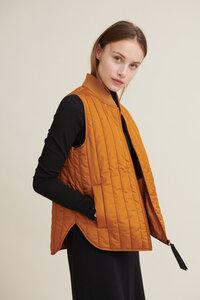 Vegane Steppweste kurz - Louisa Short Vest - aus recyceltem Polyester - Basic Apparel