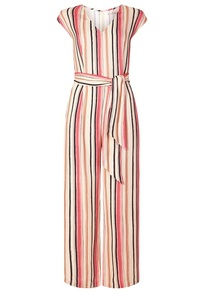Eva Streifen Jumpsuit pink - Komodo