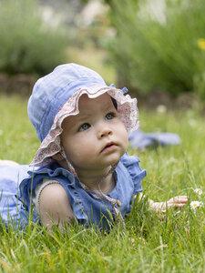Baby und Kleinkinder Sonnenhut mit UV-Schutz reine Bio-Baumwolle - Pure-Pure
