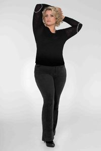 Diva-Jeans CORD * black - Pearls of Laja