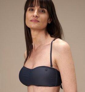 Bikini Bandeau Top aus recyceltem Stoff - CasaGIN