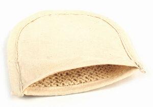 Peeling-Handschuh aus Brennnessel Faser - El Puente