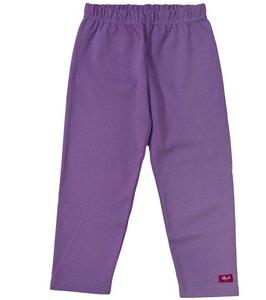 Kinder Leggings violett Bio - People Wear Organic